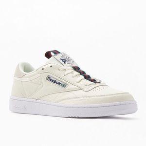 Reebok Cream Navy Club C 85 Mu Shoes